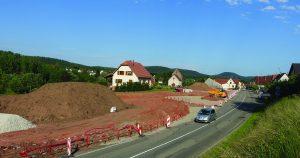Wimmenau : entrée de la commune