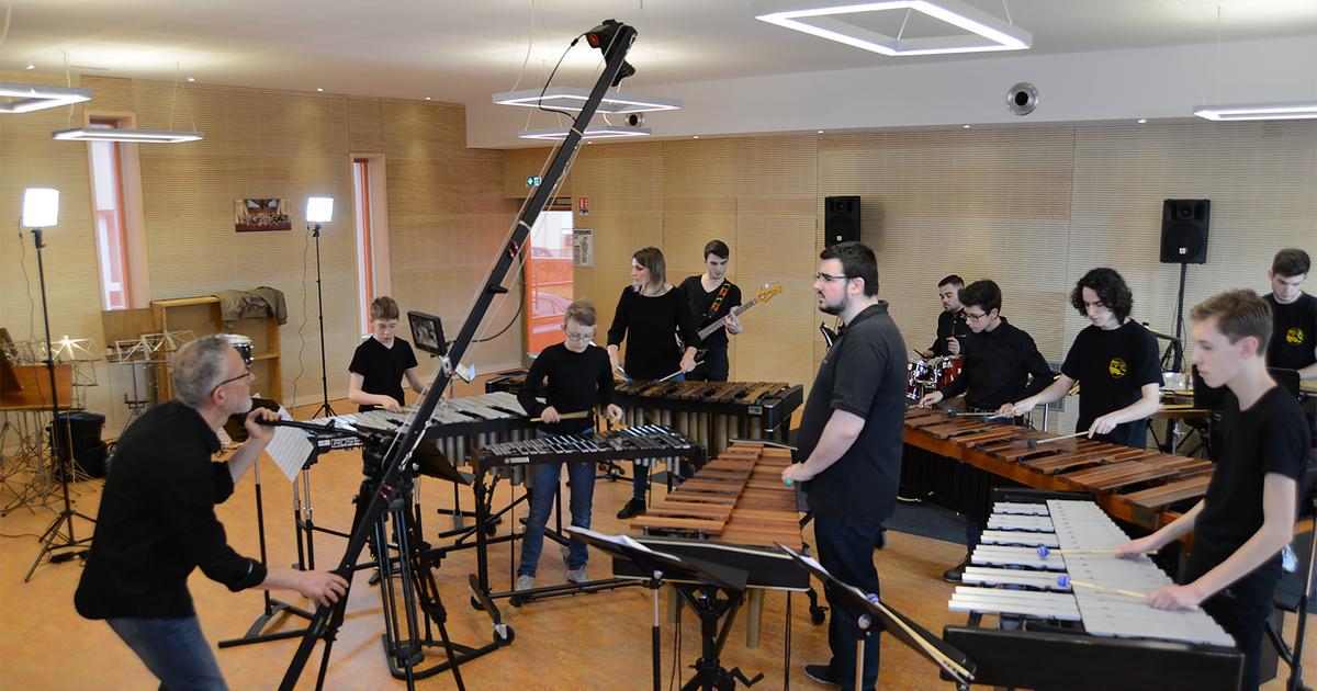 CD Ensemble de Percussions
